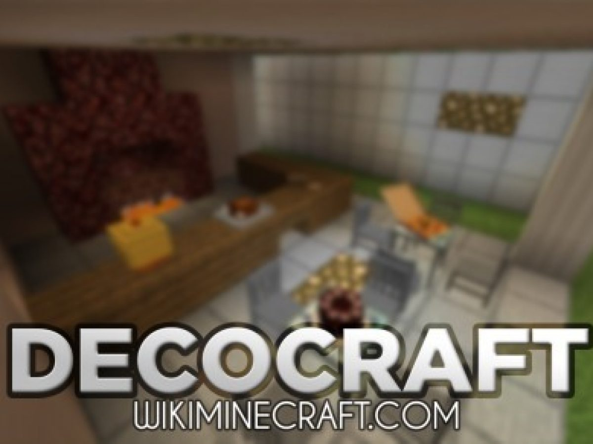 Decocraft Mod 1 16 5 1 16 4 Many New Decorations For Minecraft