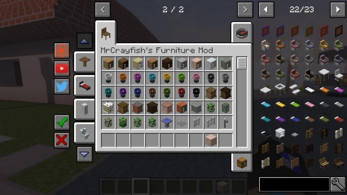 mrcrayfish furniture mod: tv
