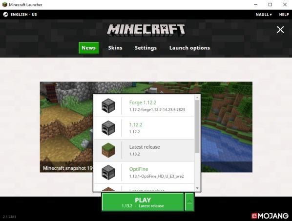 minecraft install optifine with forge
