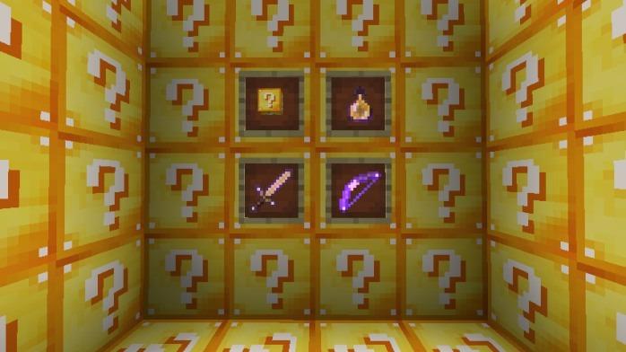 Lucky Block Mod 1 14 4/1 13 2/1 12 2 - Test your luck